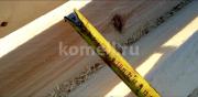 Правильный паз Сруба из сосны 6.5*6.5 в Екатеринбурге