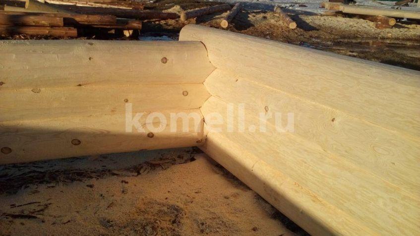 Сруб из сосны 6.5*6.5 в Екатеринбурге