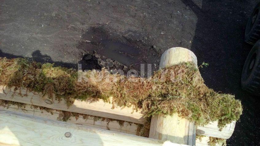 Монтаж сруба 6.5*6,5 под дачный дом из зимнего леса Полевской