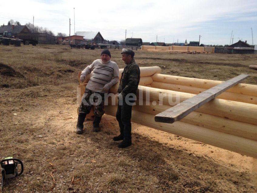 Сергей Авдейкин в гостях у компании Комель рядом с Рашидом